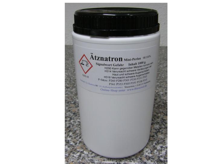Ätznatron Mini-Perlen 98/100%