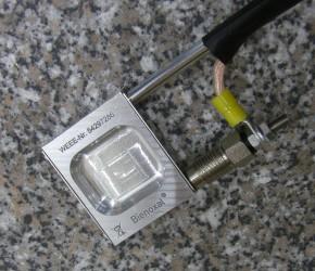 Oxalsäure Pfannenverdampfer 12 Volt Alu Varroa Milbe Varroabehandlung mit Hitzeschutz